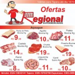 Ofertas deste final de semana do REGIONAL SUPERMERCADOS de Tapera 3
